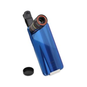 Objektiv za mobitel - Clip Lens - Tele Zoom 8X  - Crna