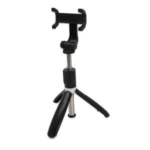 Selfie štap Bluetooth - Mobitel - Univerzalni - Tronožac - 60cm  - Crna