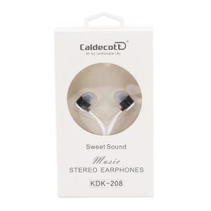 Žičane slušalice - 3.5 mm AUX - Bijela