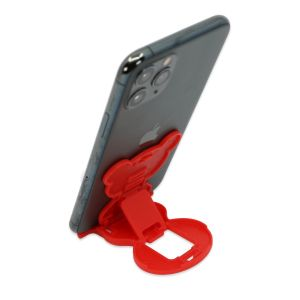 Stalak za mobitel - Medo - Crvena