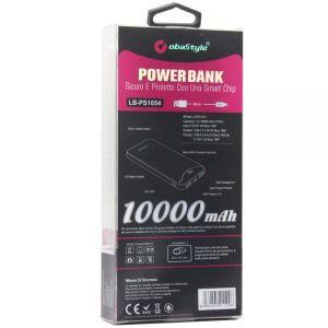 Powerbank - Eksterni Punjač - 3.0 A - 10000 mAh - Crna