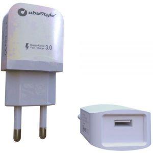 Punjač - Obastyle - 3.0 A USB - Bijela