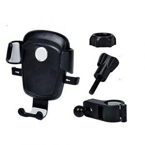Stalak - Mobitel - Bicikl - 4.5 - 7 inch - Crna